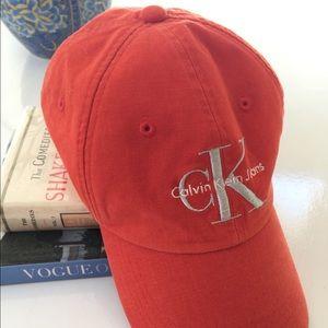 Calvin Klein baseball cap hat